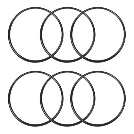 "Express Water Replacement O-Ring Kit for Standard 3.5"" Diameter Reverse Osmosis RO Water Filter Housing 6 Pcs, BPA Free"