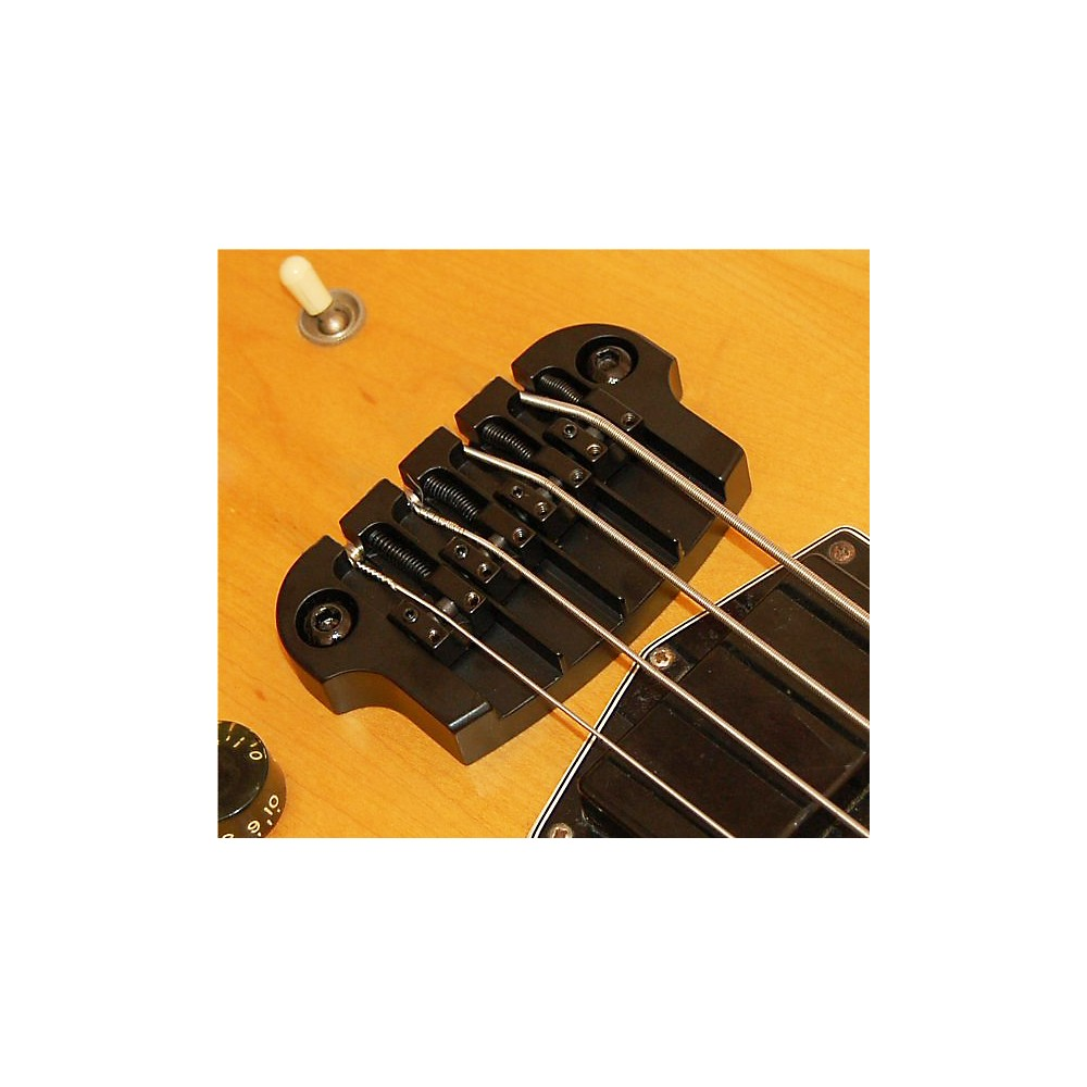 Hipshot SuperTone Gibson 3-Point Bass Bridge Black