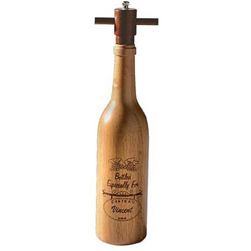 Personalized Wooden Pepper Mill