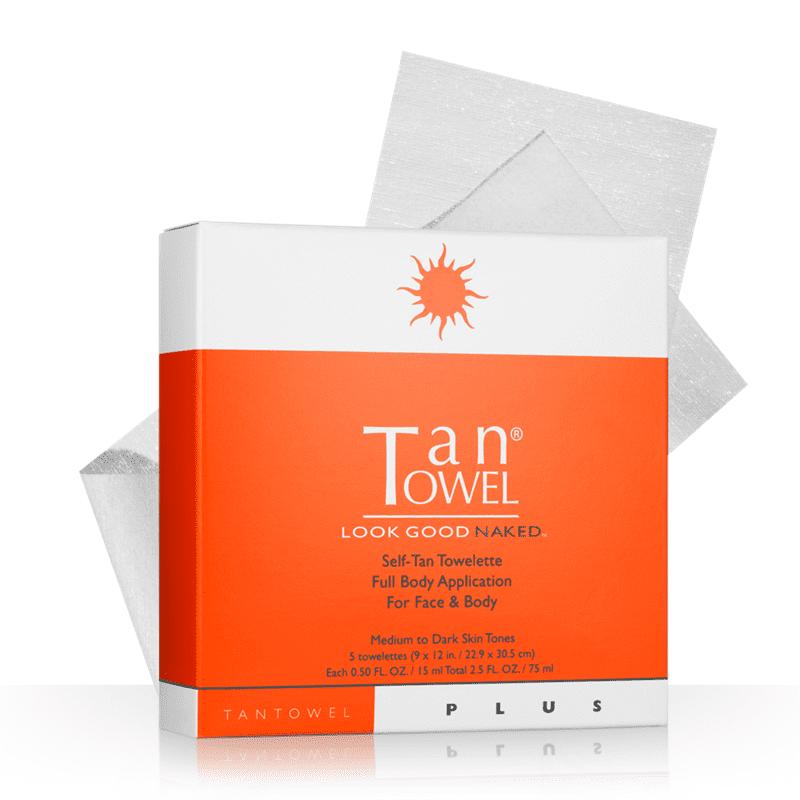 Tan Towel Tan Towel  Self-Tan Towelette, 5 ea