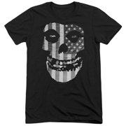 Misfits Fiend Flag Mens Tri-Blend Short Sleeve Shirt