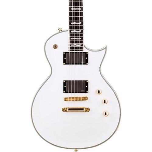 ESP LTD EC-1000T/CTM Eclipse Electric Guitar (Snow White)