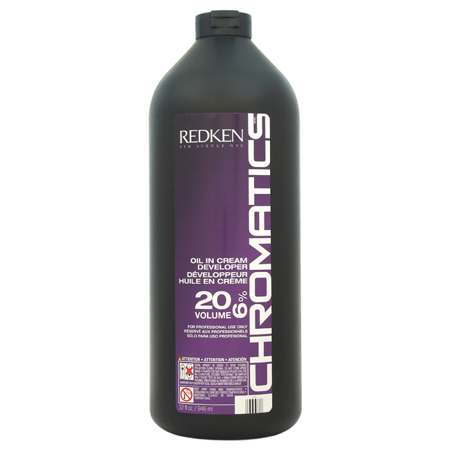 Chromatics Oil In Cream Developer -20 Volume 6% By Redken - 32 Oz Cream