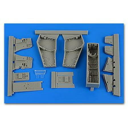 1/48 F4C/D Phantom II Wheel Bay w/Covers For ACY (Resin)