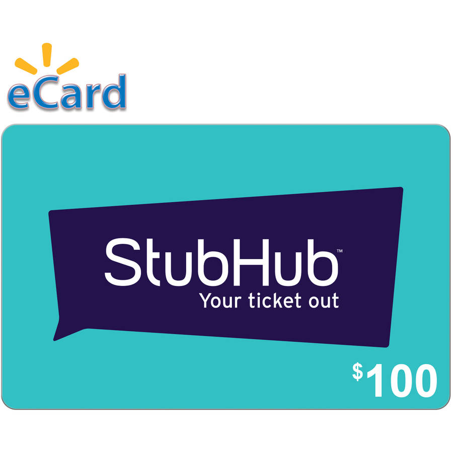 StubHub $100 (Email Delivery)