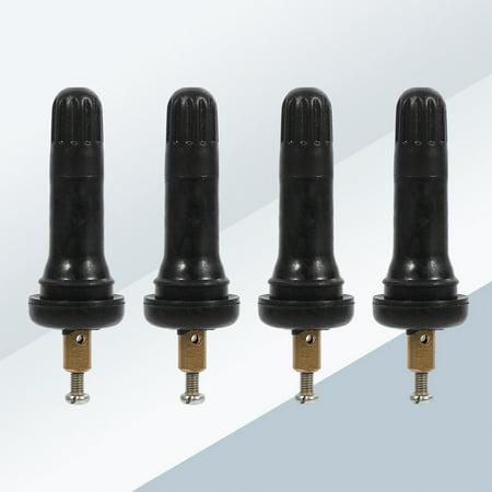 WALFRONT 4pcs système de surveillance de pression des pneus TPMS anti-explosion encliquetable dans les tiges de valve de pneu, tige de valve de capteur, tige de valve de TPMS - image 2 de 9