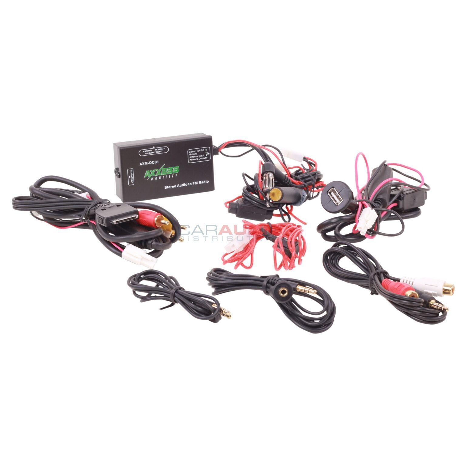 AXXESS Mobility AXM-DC01 Wired FM Modulator Universal Ste...