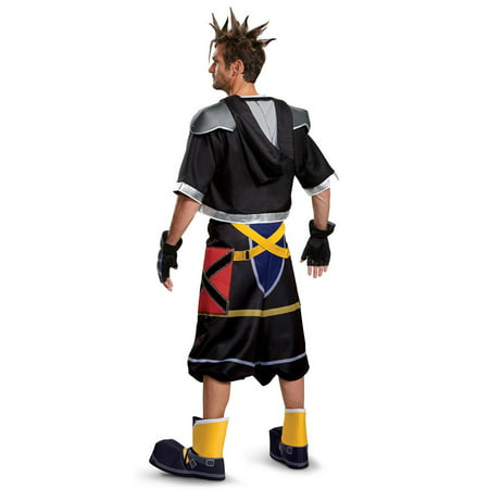 Kingdom Hearts Sora Deluxe Teen Halloween Costume - Kingdom Hearts Halloween Town Voice Actors