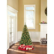 Holiday Time Pre-Lit 6.5' Madison Pine Artificial Christmas Tree, Green/Clear Lights