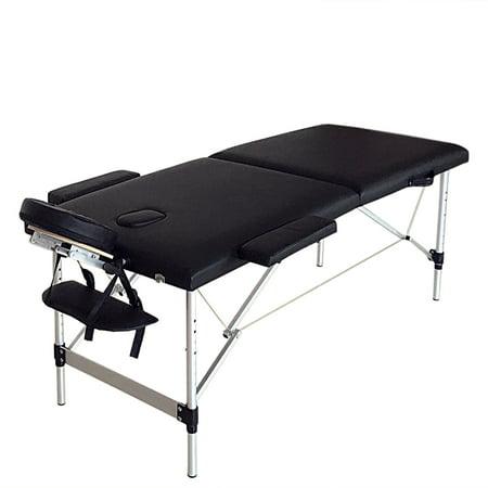 Zimtown Ultra Lightweight Portable Massage Bed, 73