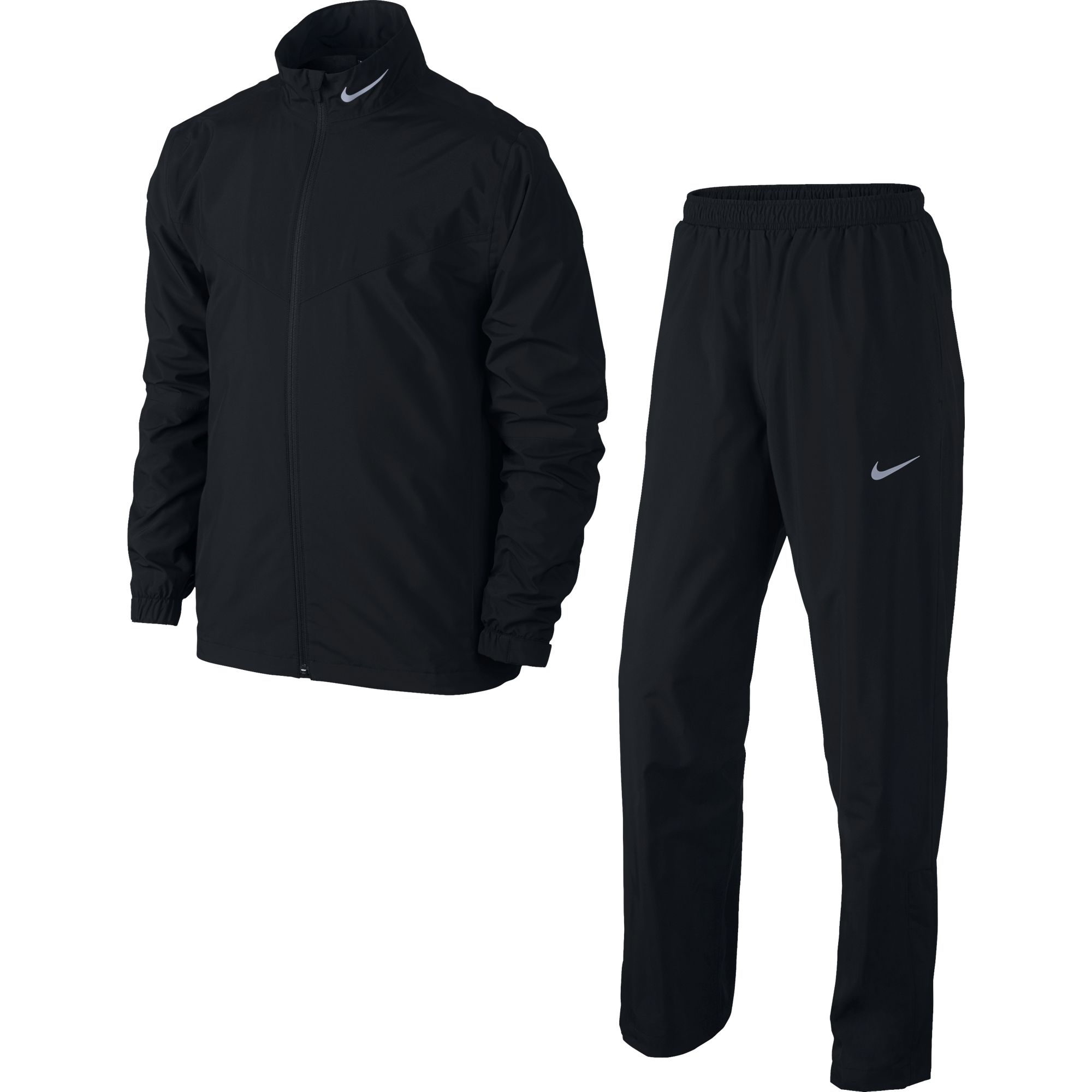 NEW Nike 2016 Storm-Fit Golf Black Rain Suit Men's Medium