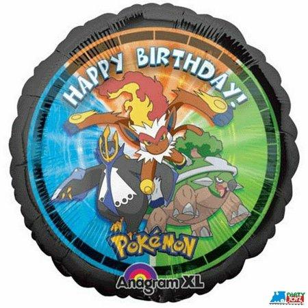Pokemon Round Foil Metallic 18