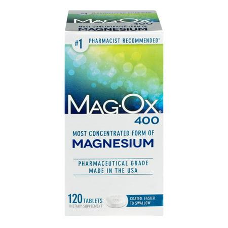 Magox 400 Dietary Supplement, 120ct (Sonnenbrille 400)