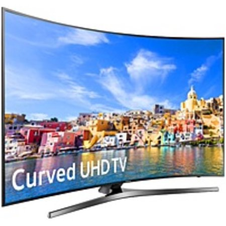 Samsung UN65KU7500FXZA 65-inch Curved 4K Ultra HD Smart LED TV – (Refurbished)