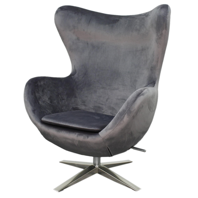 Max Wing Back Swivel Rocker Chair, Multiple Colors