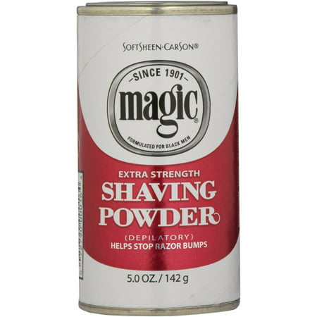 6 Pack - Magic Shaving Powder Red Extra Strength 5 oz - Magic Shaving Powder