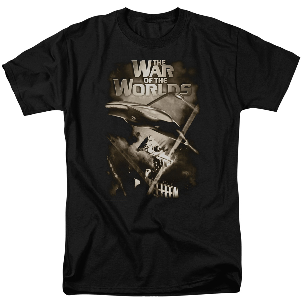 War Of The Worlds/Death Rays S/S Adult 18/1   Black     Par120