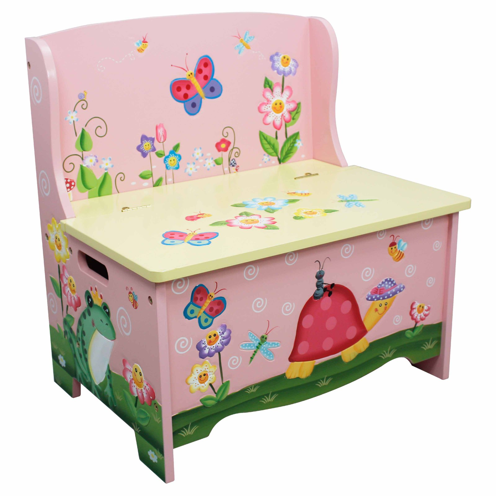 Fantasy Fields Magic Garden Storage Bench by Teamson Design Corporation