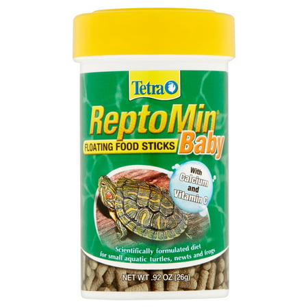 2 Pack Tetra Reptomin Floating Baby Food Sticks For