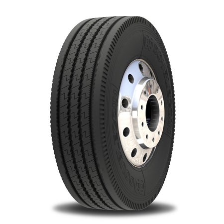 Double Coin RT606 Ultra Premium 5-Rib Regional Steer/All-Position Commercial Radial Truck Tire - 285/75R24.5 14 ply