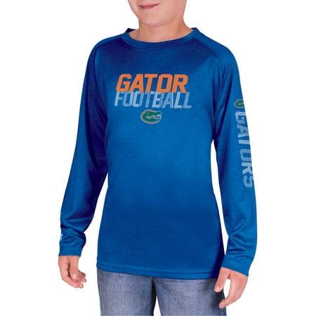 NCAA Florida Gators Boys Long Sleeve Impact T-Shirt for $<!---->