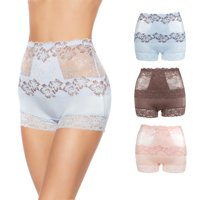 Rhonda Shear Lace Overlay Pin-Up Shortie 3-pack-58350961R485