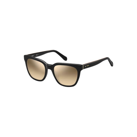 Sunglasses Fossil Fos 2066 /S 0807 Black / G4 brown mirror gradient lens