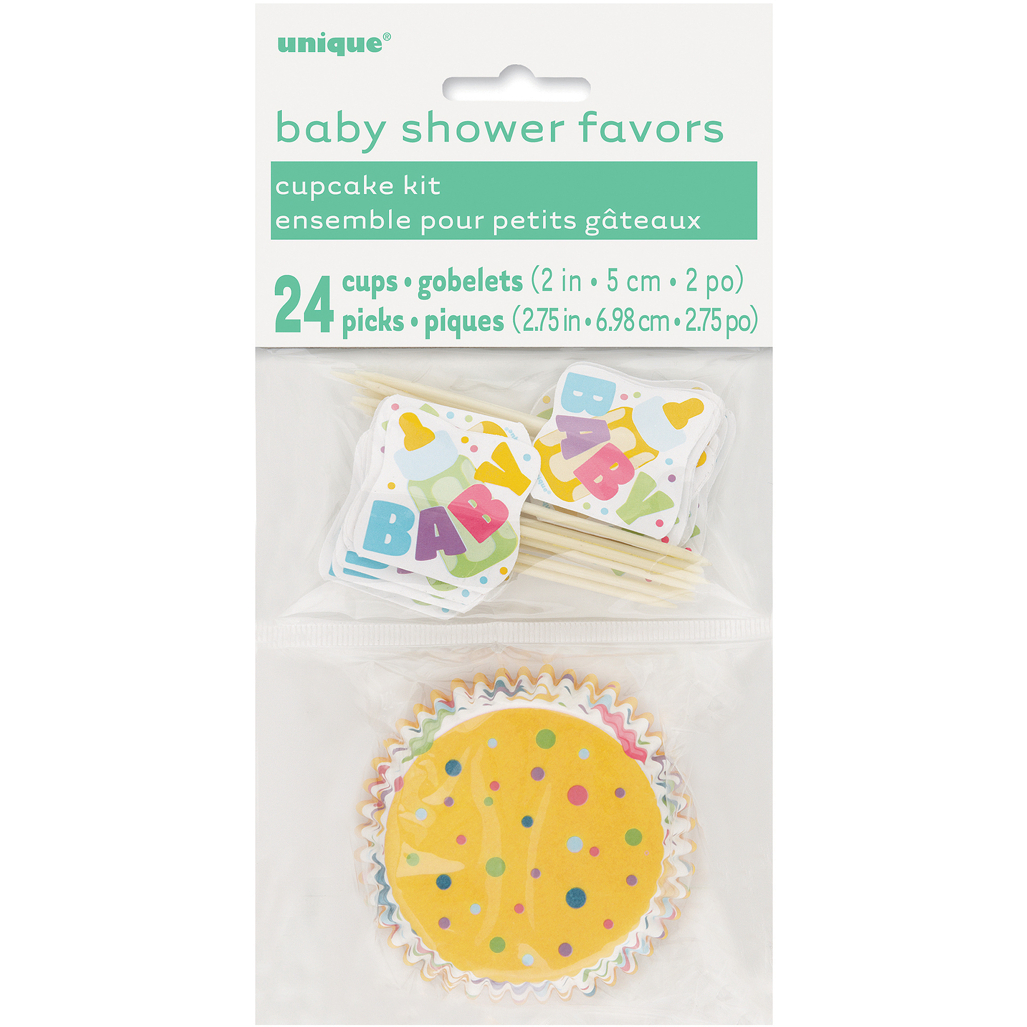 Baby Shower Cupcake Kit for 24 (48pc)