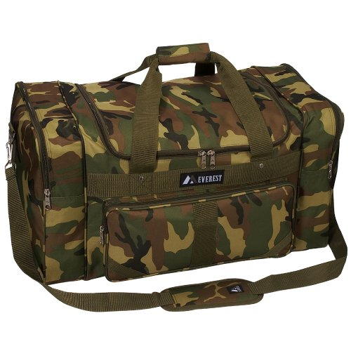 "Everest Jungle Camo 27"" Duffel Bag"