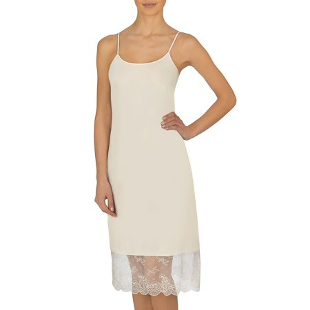 Infinity Lace-Trimmed Slip Dress