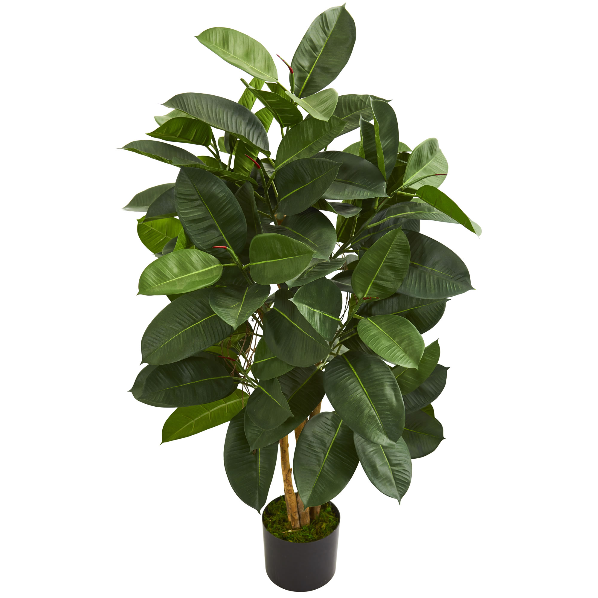 Nearly Natural 4' Oak Ficus Artificial Tree