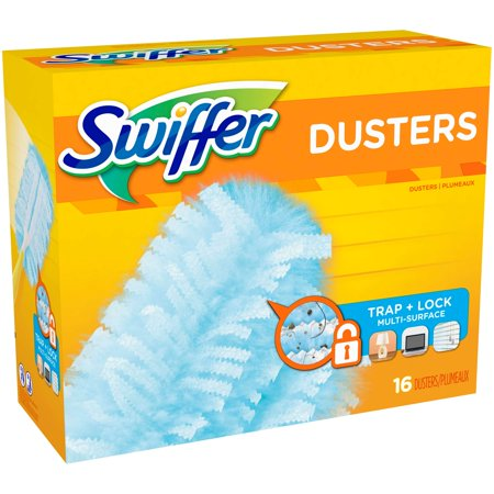 swiffer 180 dusters multi surface refills unscented scent 16 count best surface care. Black Bedroom Furniture Sets. Home Design Ideas