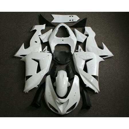 Unpainted ABS Injection Bodywork Fairing Plastic for KAWASAKI ZX-10R 2006
