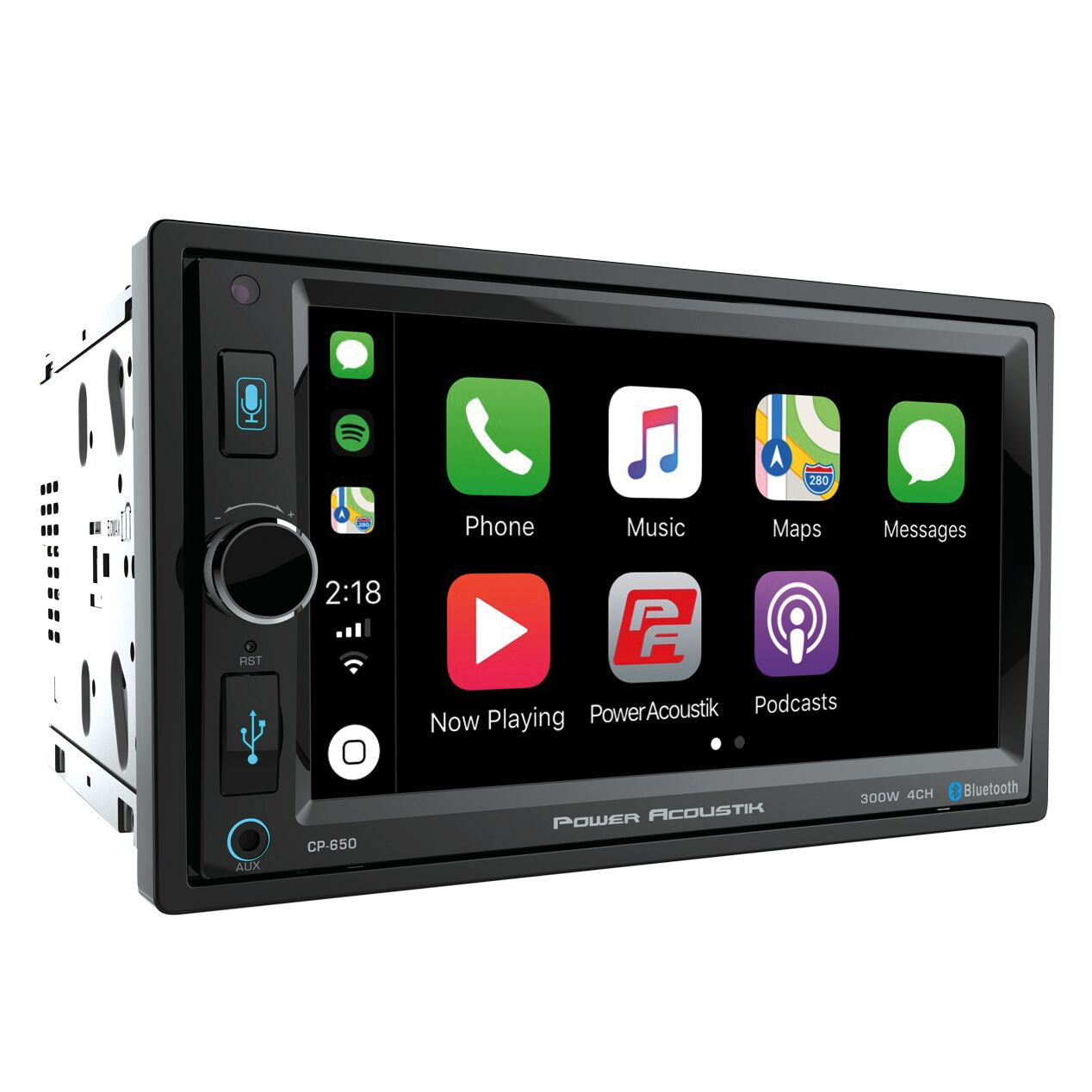 "Double DIN In-Dash Car Stereo Receiver w/ 6.5"" LCD Screen"