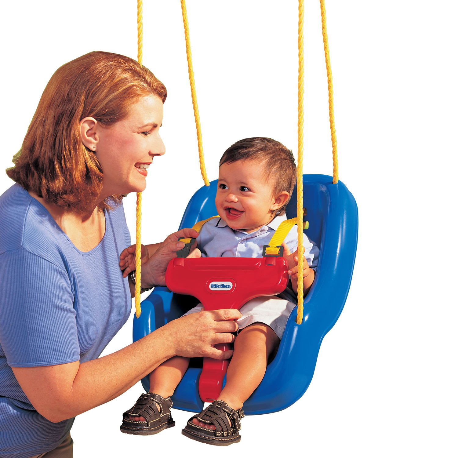 Little Tikes 2-in-1 Snug 'n Secure Swing Blue by MGA Entertainment