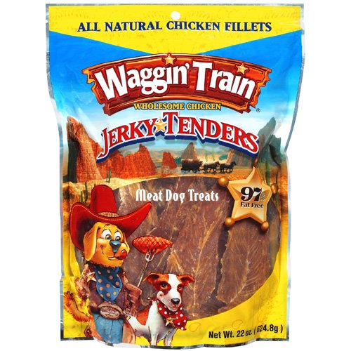 Waggin' Train 22oz Chicken Jerky Tenders Dog Treats