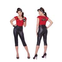 Womens 50's Sexy Hot Rod Honey Halloween Costume