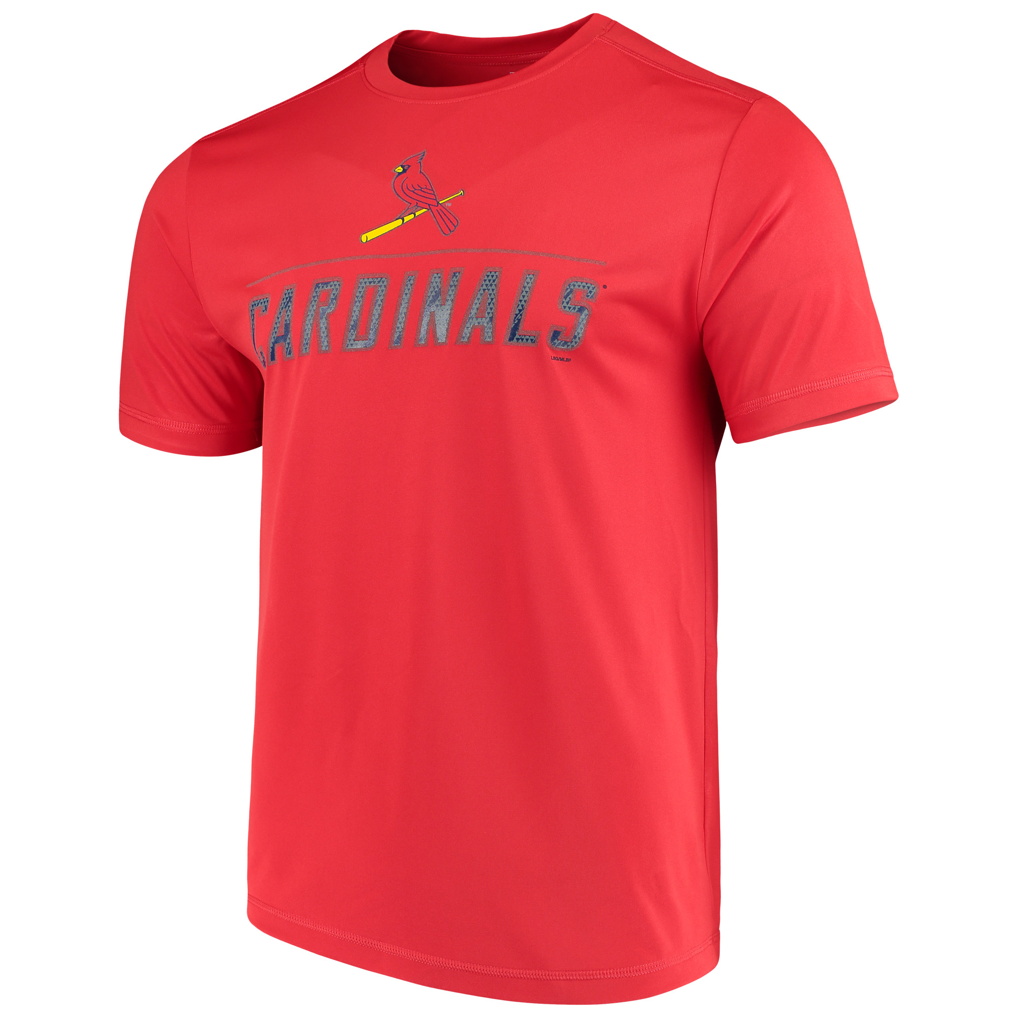 Men's Majestic Red St. Louis Cardinals Big Athletic TX3 Cool Fabric T-Shirt