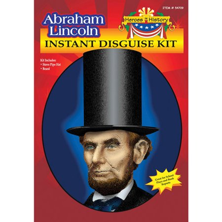 Lincoln Heroes in History Adult Halloween Accessory - Halloween Parties In Lincoln Park Chicago