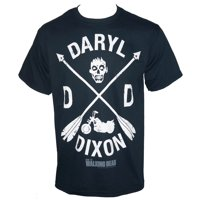 Licensed THE WALKING DEAD Arrow Dixon T-Shirt Black