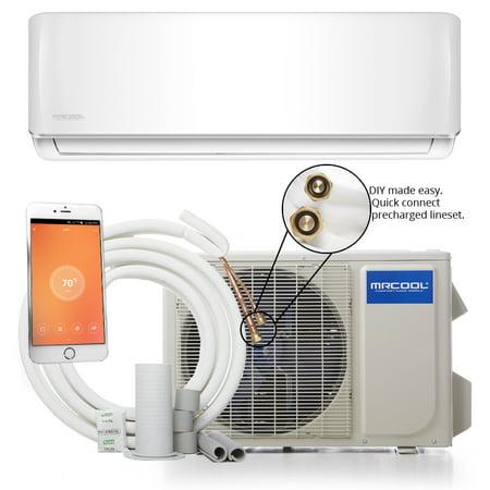 Mrcool Diy 36k Btu 16 Seer Ductless Mini Split Heat Pump W Wifi