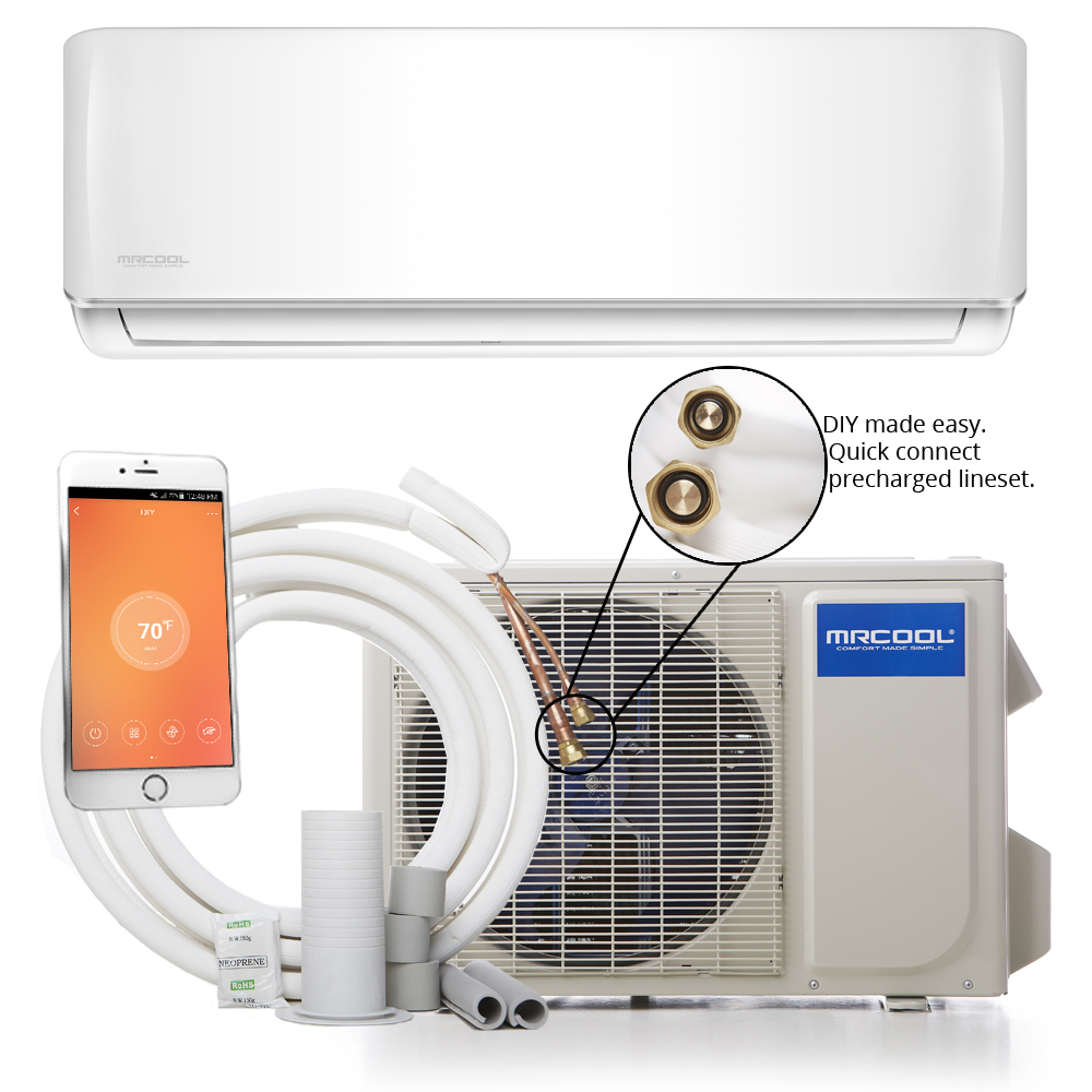 MRCOOL DIY 18K BTU 16 SEER Ductless Mini-Split Heat Pump w/ WiFi