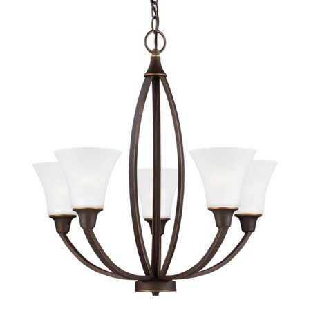 Sea Gull Lighting Metcalf 3113205 5-Light Chandelier ()