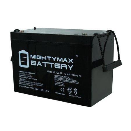 12V 100Ah SLA Battery for Tomcat MiniMag Series Floor Scrubbers