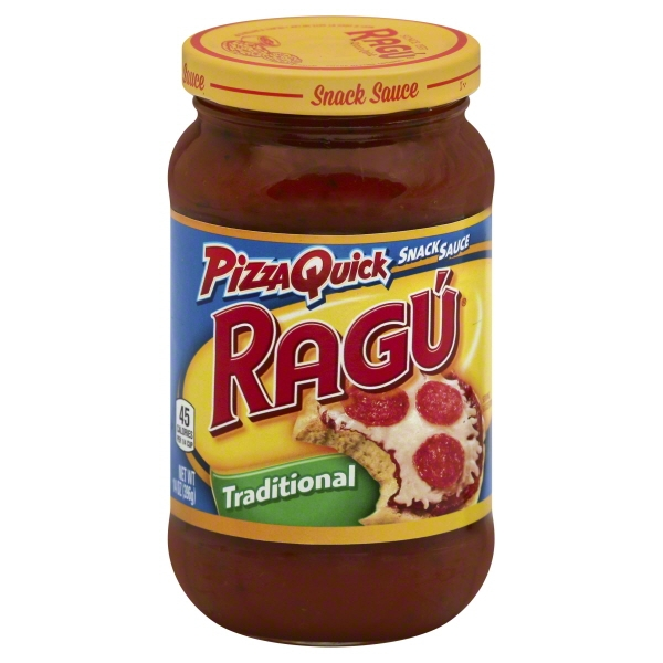 Ragú Pizza Quick Traditional Snack Sauce 14 oz.