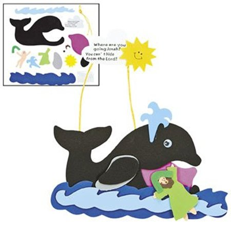 Jonah & The Whale Craft Kit - Religious Crafts & Bible Story Crafts, By Oriental Trading Company
