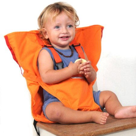 Baby Chair Portable Baby High Chair belt Seat Infant Sack Sacking Kids New Seat,Indoor/Outdoor Chair | Portable Chair converts to baby (Baby High Chair Belt)