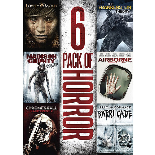 6-Pack Of Horror: Lovely Molly / Airborne / Chromeskull: Laid To Rest 2 / Barricade / Madison County / Frankenstein Theory (Widescreen)