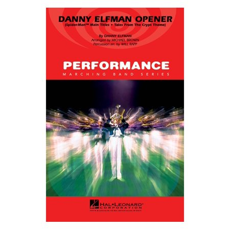 Hal Leonard Danny Elfman Opener Marching Band Level 4 Arranged by Will Rapp (Danny Elfman This Is Halloween Live)