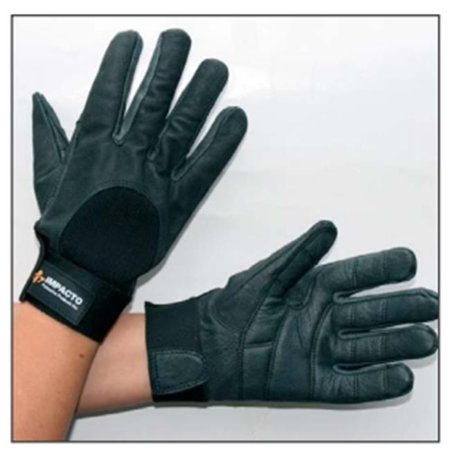 Anti Vibration Gloves - Impacto Protective Products AV40750 Anti Vibration Full Finger Glove With Foam - Small